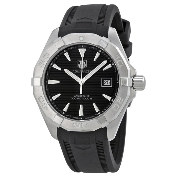 Tag Heuer Aquaracer Automatic Black Dial Steel WAY2110.FT8021 Replica