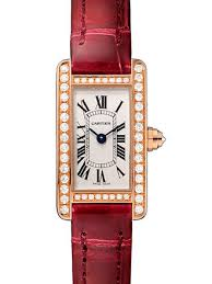 Cartier Tank Americaine Silvered Flinque Dial Ladies WB710014 replica watch