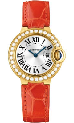 Cartier Ballon Bleu Yellow Gold With DiamondsWE900151
