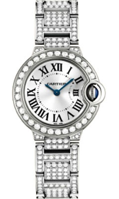 Cartier Ballon Bleu White Gold With DiamondsWE9003ZA