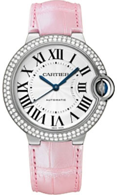 Cartier Ballon Bleu White Gold With DiamondsWE900651