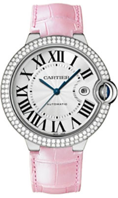 Cartier Ballon Bleu White Gold With DiamondsWE900951