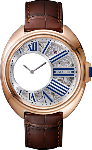 Cle de Cartier WHCL0002 Mysterious Hours replica watch