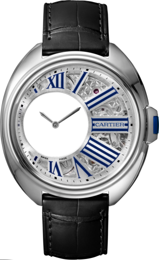 Cle de Cartier Mysterious Hours WHCL0003 replica watch