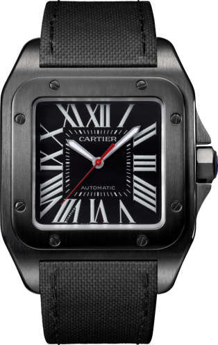 Cartier Santos 100 Carbon WSSA0006 replica watch
