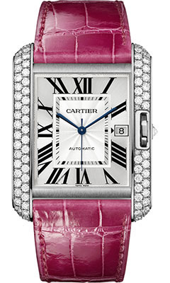 Cartier Tank Anglaise White Gold With Diamonds WT100023
