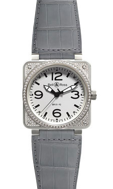 Bell & Ross BR 01-92 Automatic Diamonds White