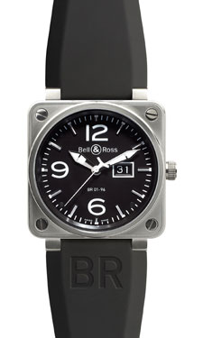 Bell & Ross BR 01-96 Automatic Big Date SteelBlack