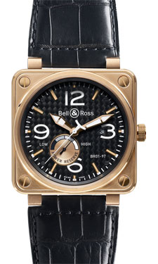 Bell & Ross BR 01-97 Power Reserve Gold