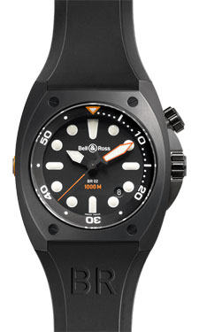 Bell & Ross BR 02-92 Automatic Carbon
