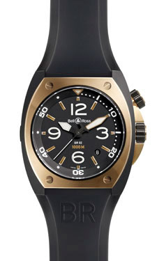 Bell & Ross BR 02-92 Automatic Pink Gold and Carbon