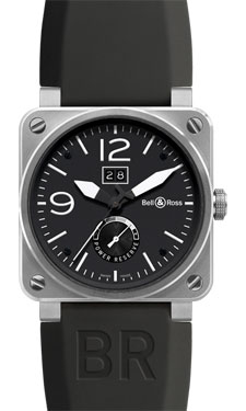 Bell & Ross BR 03-90 Big Date Power Reserve Stainless Steel