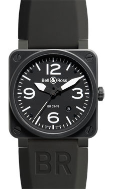 Bell & Ross BR 03-92 Automatic Carbon Black