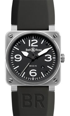 Bell & Ross BR 03-92 Automatic Steel Black