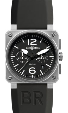 Bell & Ross BR 03-94 Chronograph Steel Black