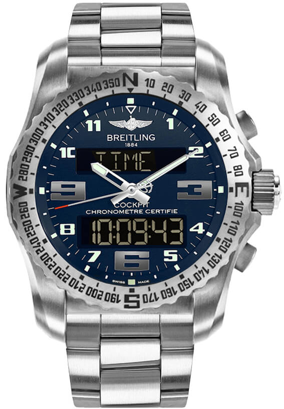 Breitling Professional Super Quartz Mens EB501019/C904/176E Watch