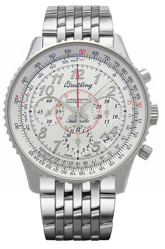 Breitling Montbrilliant 01 AB013012/G735/448A Chronograph Stainless Steel Watch