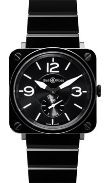 Bell & Ross BR-S Quartz Black Ceramic