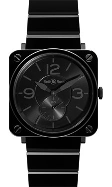 Replica Bell & Ross BR-S Black Ceramic Phantom