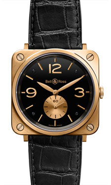 Replica Bell & Ross BR-S Gold Mechanical