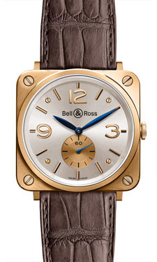 Bell & Ross BR-S Mechanical Gold Gold Silver