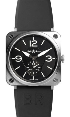 Bell & Ross BR-S Quartz Stainless Steel