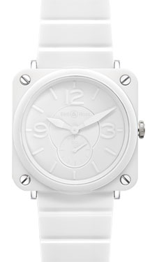Bell & Ross BR-S Quartz White Ceramic Phantom