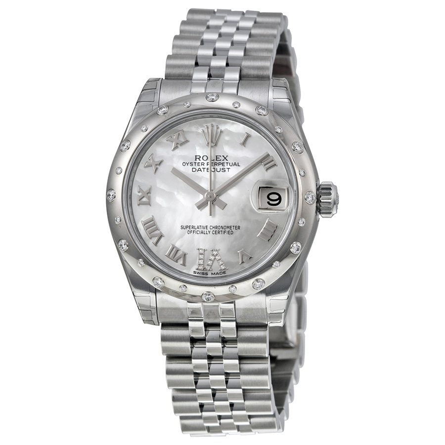 Rolex Datejust Lady 31 Mother of Pearl Dial 178344 replica watch