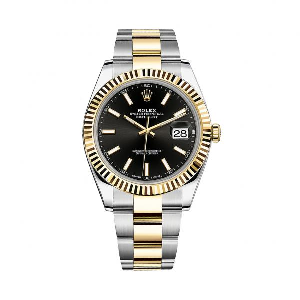 Rolex Datejust 41 Black Dial 126333 replica watch