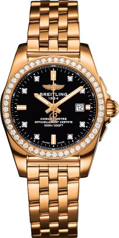 Breitling Galactic 29 H7234853/BE86/791H Rose Gold Watch