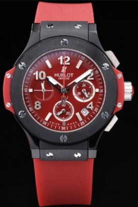 Hublot Big Bang Red Strap Red Dial (hb03)