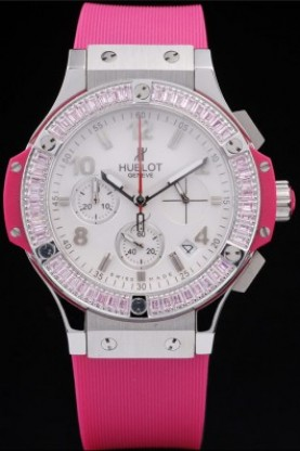 Hublot Big Bang Tutti Frutti Pink Strap Steel Face (hb12)