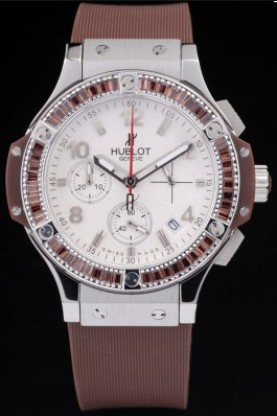 Hublot Big Bang Tutti Frutti Brown Strap Steel Face (hb19)