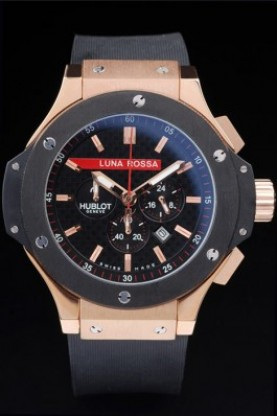 Hublot Limited Edition Luna Rosa Gold Face (hb27)
