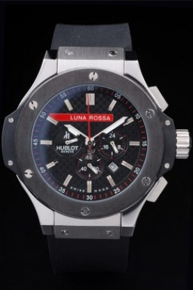 Hublot Limited Edition Luna Rosa Steel Face (hb28)
