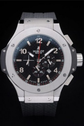 Hublot Big Bang King Black Strap Steel Face (hb35)