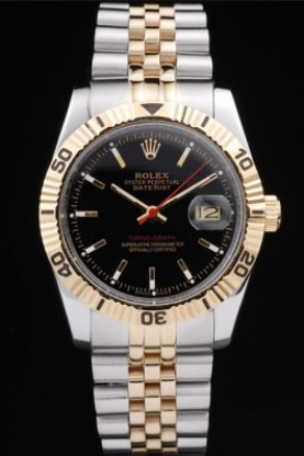 Rolex Datejust Two Tone Stainless Steel 18k Gold Plated (rl263)