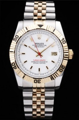 Rolex Datejust Two Tone Stainless Steel 18k Gold Plated (rl264)