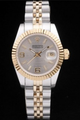 Rolex Datejust Two Tone Stainless Steel Yellow Gold Plated (rl27