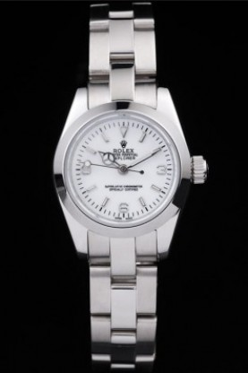 Rolex Explorer Polished Stainless Steel White Dial (rl289)