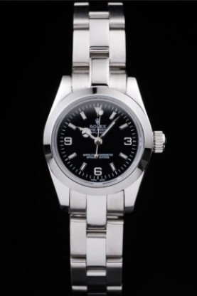 Rolex Explorer Polished Stainless Steel Black Dial (rl290)