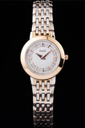 Piaget Traditional Rose Gold Case Double Studded Minute Markers