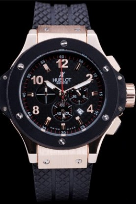 Hublot Big Bang King Chronograph Black Bezel Black Dial Black St
