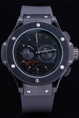 Hublot Limited Edition Ayrton Senna Black Face (hb84)