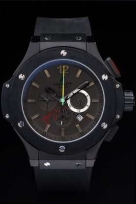 Hublot Limited Edition Ayrton Senna 2009 Black Face (hb30)
