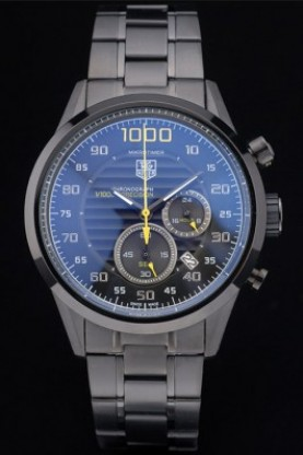 Tag Heuer Mikrotimer Flying 1000 Stainless Steel Black 7914 (tag