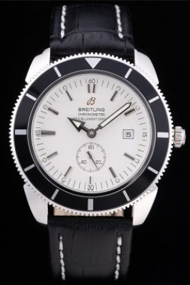 Breitling Certifie SuperOcean White Dial Black Tachymeter (bl347