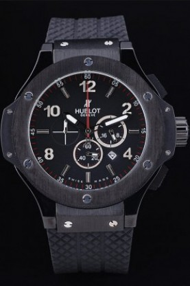 Hublot Big Bang King Black Strap Black Face (hb32)