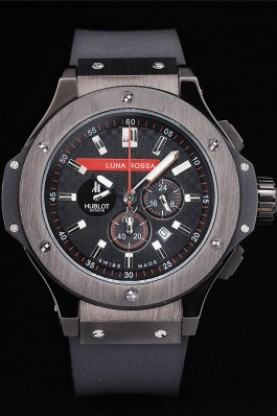 Hublot Limited Edition Luna Rosa Black Face (hb26)