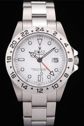 Rolex Explorer Stainless Steel Tachymeter White Dial (rl347)